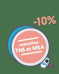 réduction mutuelle senior cegema vitaneor 2 TNS ou exploitant agricole