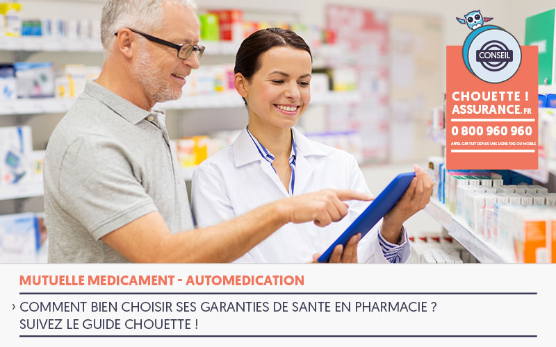 devis mutuelle remboursement médicaments et automédication c'est Chouette !