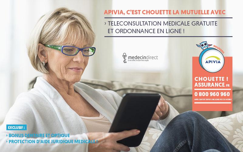 devis mutuelle Apivia avec le meilleur tarif c'est Chouette assurance !
