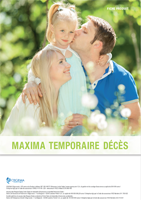 brochure assurance Capital décès - PTIA - IPT Maxima Temporaire Décès Cegema