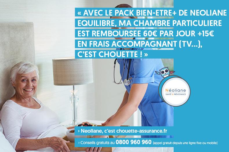 mutuelle remboursement chambre hospitalisation