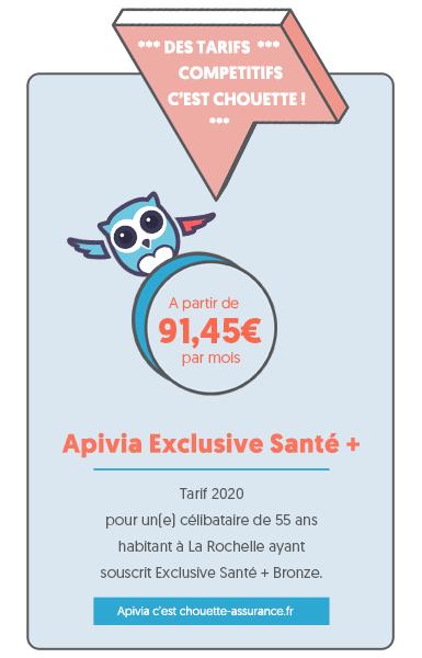 Meilleur tarif mutuelle Apivia Exclusive Santé Senior : c'est Chouette assurance !