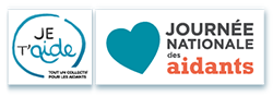 logo de la Journée Nationale des Aidants du collectif Je t'Aide autour du maintien à domicile des personnes âgées et dépendantes