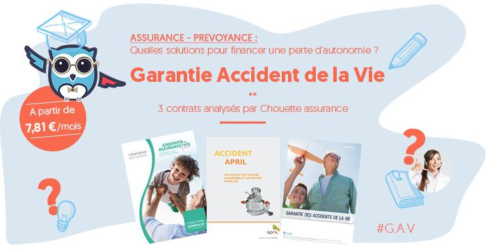 Financement de la perte d'autonomie et du maintien à domicile via la Garantie Accident de la Vie Courante c' est Chouette !