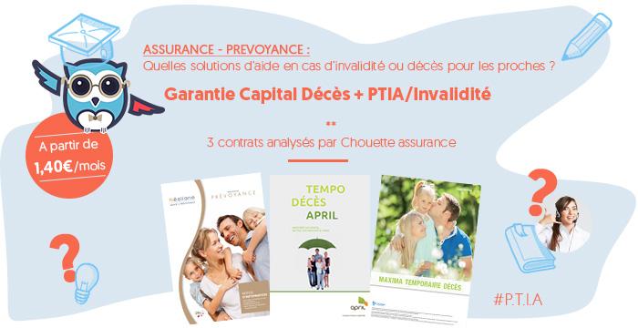 Garantie Capital Décès + Perte Totale et Irréversible d'Autonomie / Invalidité Permanente Totale : une chouette assurance pour aider ses proches et financer son maintien à domicile