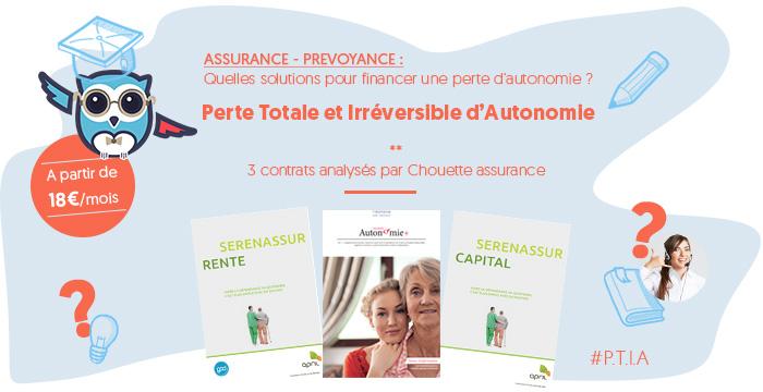 Assurance Perte Autonomie PTIA aide : chouette financement du maintien à domicile ?