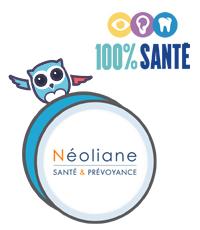 Neoliane Equilibre mutuelle 100% Santé RAC 0 c'est Chouette assurance !