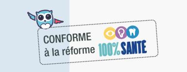 mutuelle Neoliane Initial + conforme 100% santé, RAC zero c'est Chouette !