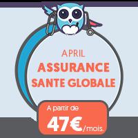 Devis April Mon Assurance Santé Globale au Meilleur Prix c'est #ChouetteAssurance ↵