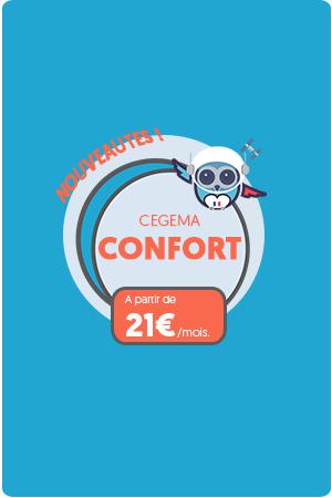 Mutuelle Cegema Confort haut de gamme